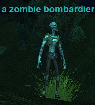 a zombie bombardier