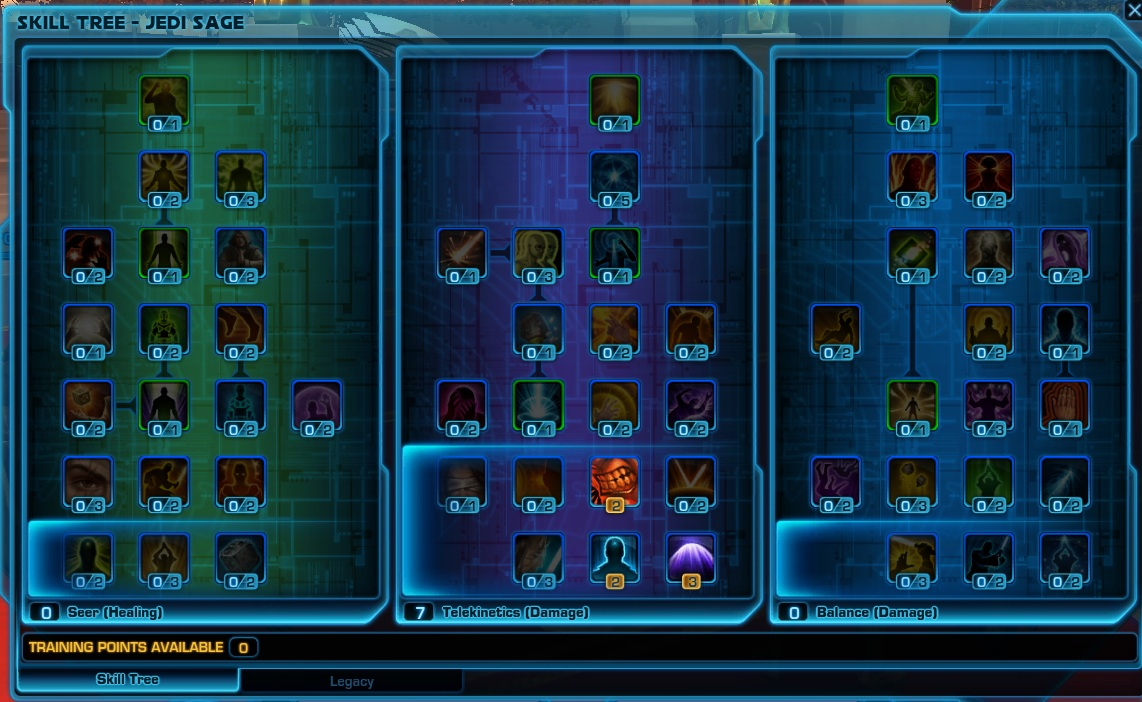 Swtor Talent Builds