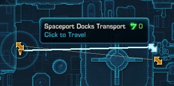 Spaceport Docks Transport