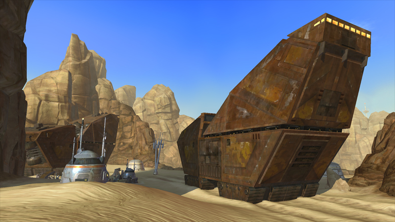 Screenshots of Tatooine