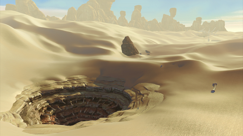Screenshot of Tatooine