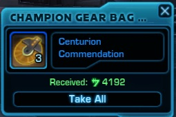Champion Gear Bag Contents