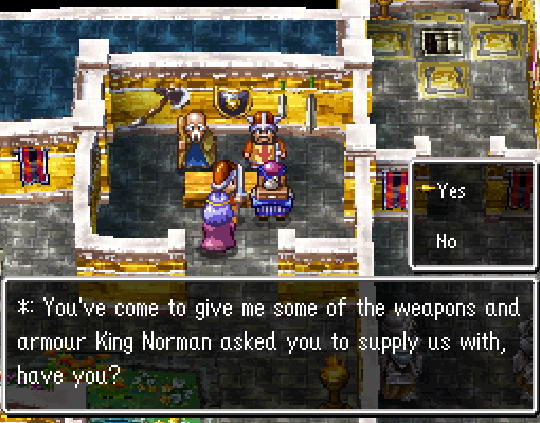 King Norman Weapon Requests