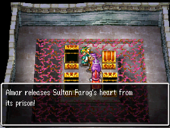 Sultan Farog Heart Location