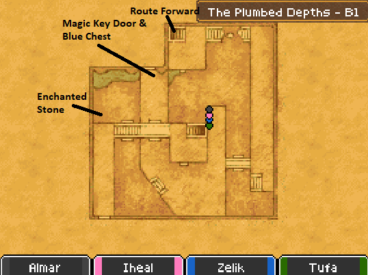 The Plumbed Depths B1 Map