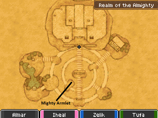 Realm of the Almighty P2 Map