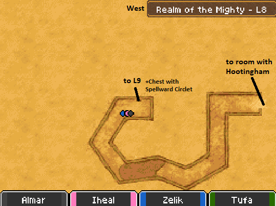 Realm of the Mighty L8 Map