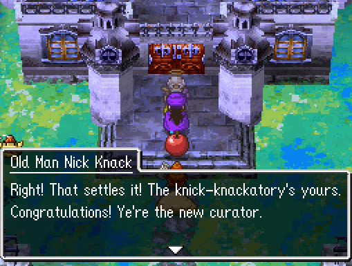 Old Man Nick Knack