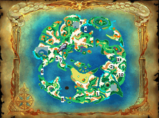 Dream World Optional Treasure Locations