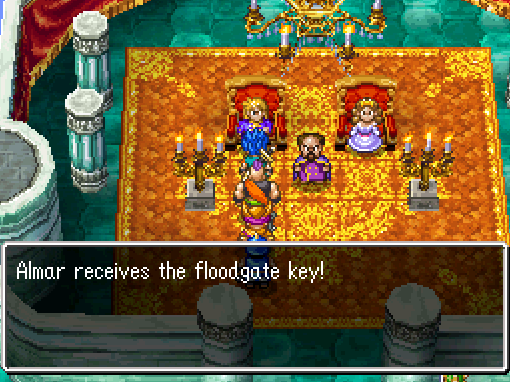 Floodgate Key Obtained