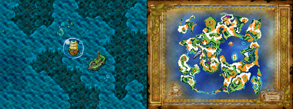 Ultimate Key DQ6 Map Location