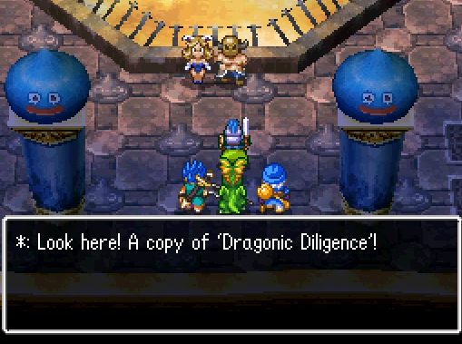 Dragonic Diligence Received as Reward