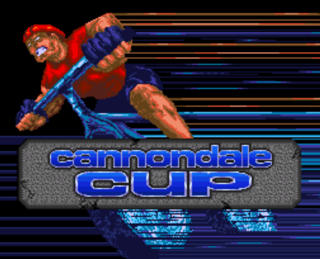 Cannondale Cup Title Screen