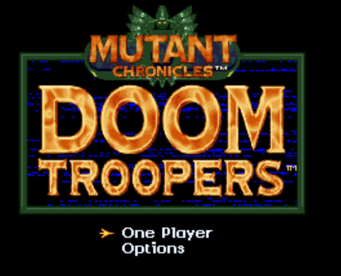 Mutant Chronicles Doom Troopers