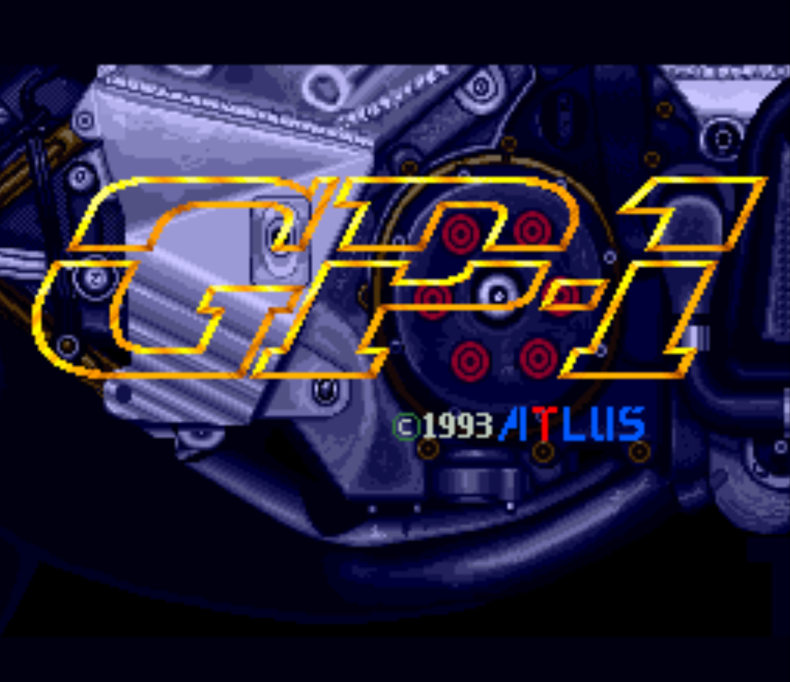 GP-1 Title Screen