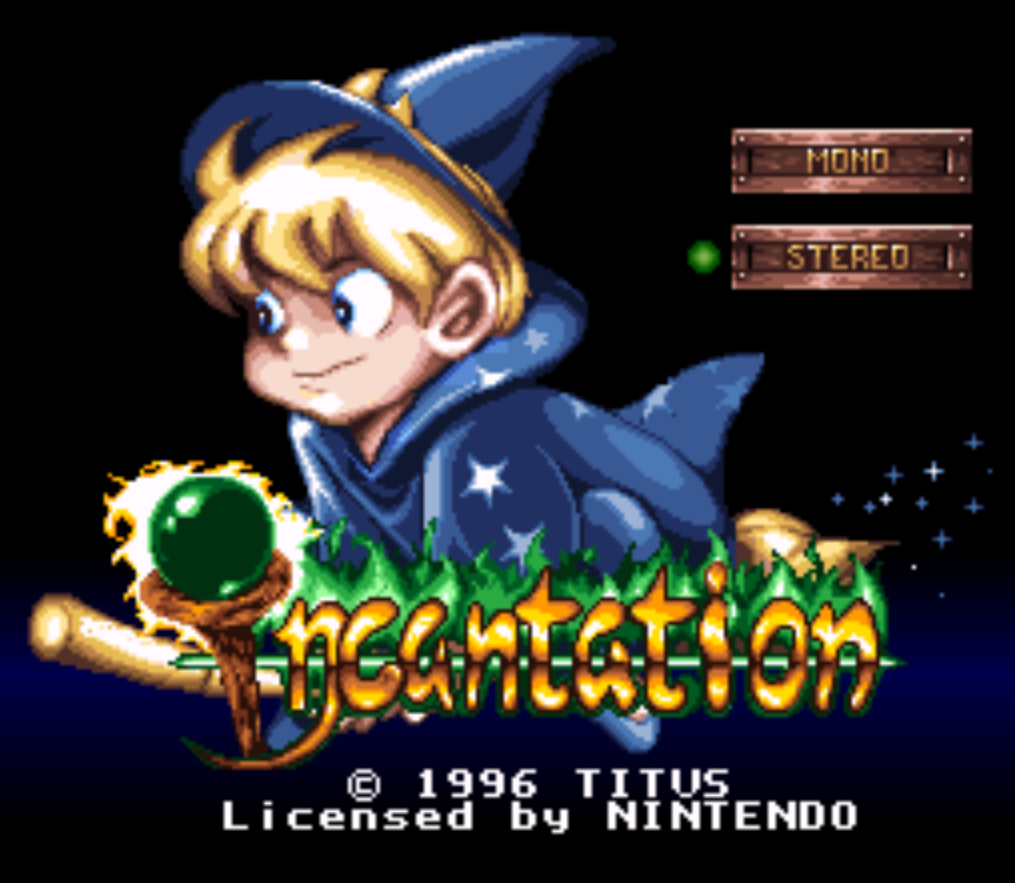 Incantation Title Screen