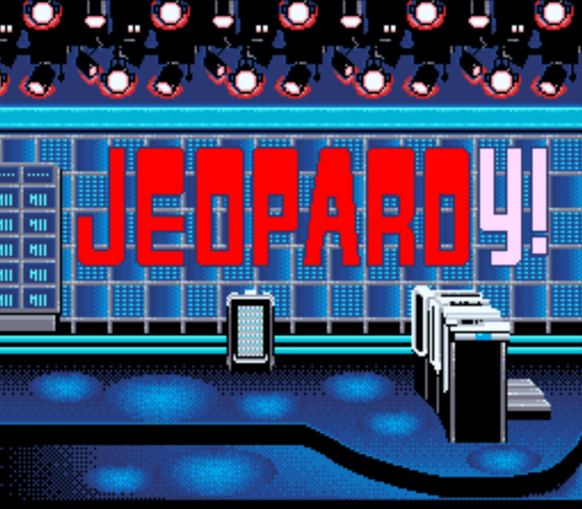 Jeopardy Title Screen